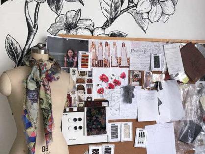 Дизайн-студия одежды в Китае